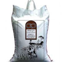 برنج قهوه ای هاشمی سبوسدار حاج عباداله - 5 کیلوگرم